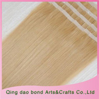 Wholesale Tape in Hair Extensions Long Straight India Remy Human Hair Unprocessed A Quality Hair ST134