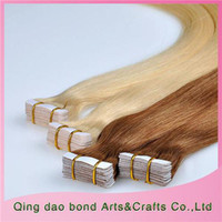 Wholesale Real Hair Extensions Best Indian Remy Human Hair Skin Weft Long Straight Hairstyle Can be Dyed Easy to Install ST132