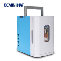 Wholesale 10LH car refrigerator car warm and cold boxes mini fridge small household refrigerator car home dual refrigeration