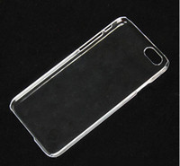 Wholesale Transparent Shell Plastic Case For iPhone iphone plus Crystal Clear DIY Case Back Cover Phone Cases For iPhone6 inch DHL