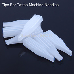 Wholesale 100pcs Disposable Caps For Permanent Makeup Machine Needles Matched For F Tattoo Pen Needles