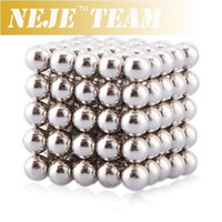 Wholesale Magnetic Balls Beads Sphere Cube Puzzle Neocube Intelligence Toy mm Diameter Pieces Sliver