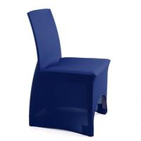 Wholesale Lycra Cotton Elasticity Chair Cover Banquet Wedding Decoration Royal Blue