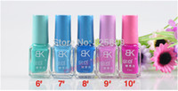 Wholesale 20pcs New Hot Sale Colors Fluorescent Luminous Neon Glow In the Dark Varnish Paint Nail Art Polish