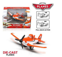 plastic model aircraft - Pull Back Dusty planes Aircraft model toy Plastic Alloy Diecasts Toy Vehicles Learning Education Toys