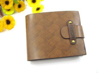 Wholesale Free shiping Brand new Leather Wallet Cowboy Men Pockets Card Clutch Cente Bifold Purse WY187 p