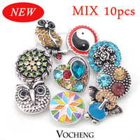 bag button - Ginger Snap Buttons Charms Jewelry Mix Sales10pcs bag Free to Choose Vn