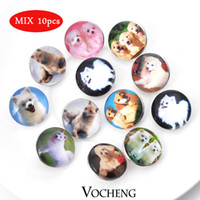 bags bulk - VOCHENG NOOSA Bulk Interchangeable Snap Buttons Jewelry MIX bag Trend Jewelry Vn