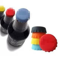 Wholesale 2014 New Lids Silicone Bottle Cap Sealing Plug Wine Corks