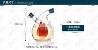 Wholesale 2014 Fashion Kitchen Supplies Oil and Vinegar Bottle Oiler Soy Sauce and Vinegar Cruet Glass Bottle Fedex