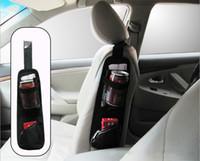 back seat storage bag - Waterproof fabric Car Auto Vehicle Seat Side Back Car Storage Pocket Backseat Hanging Storage Bags Organizer K967
