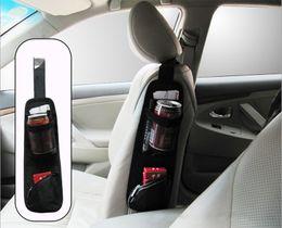 Wholesale Waterproof fabric Car Auto Vehicle Seat Side Back Car Storage Pocket Backseat Hanging Storage Bags Organizer K967