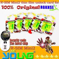 Wholesale New Original RSIM R SIM R SIM Mini Mini2 rsim r sim mini2 MM Thin Unlock gpp GPP Card For Iphone S C S IOS X IOS X