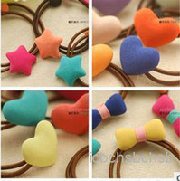 Wholesale Girl Hair Tails Holder Clips Korea Style Piece B13