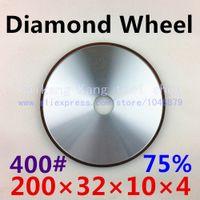 Wholesale 400 Diamond grinding wheel Flat shaped diamond wheel Resin wheel Grinder wheel Granularity