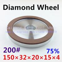 Wholesale 200 Diamond grinding wheel Single concave diamond wheel Single concave Concentration Size