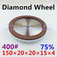 Wholesale 400 Diamond grinding wheel Single concave diamond wheel Single concave Concentration Size
