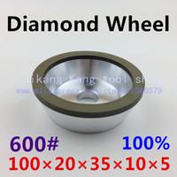 Wholesale 600 Bowl wheel Diamond grinding wheel Concentration High diamond wheel granularity