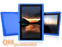Wholesale Q88 pro Allwinner A23 inch dual core android tablet pc dual camera WIFI OTG capacitive screen cheapest