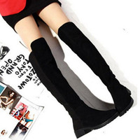 Wholesale New Brand Sexy Knee High Heels Ankle Shoes Winter Autumn Boots For Women Fashion Ladies Platforms Leather Boots DHXZ1077