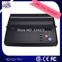 Wholesale Top quality Professional Black Tattoo Thermal Transfer Copier Printer Stencil Machine use A4 transfer paper By DHL