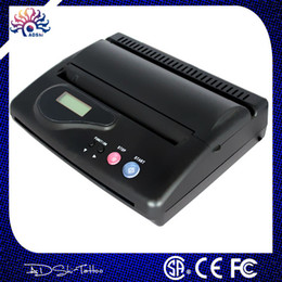 Wholesale Promotion black USB Tattoo Thermal Transfer Copier Stencil Machine Tattoo Supplies with Transfer Paper