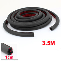 Wholesale 3 m D Type Rubber Hollow Air Sealed Seal Strip for Car Door Window
