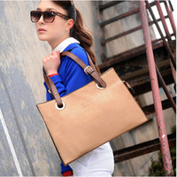 fashion women leather hand bags - New Arrival Fashion Women Hand bags Europe and the United States Style Vintage Women Bag High Quality PU Leather Bags OL Style BGB028