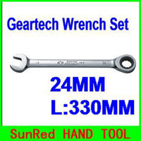 Wholesale SunRed BESTIR taiwan made high quality MM GEARWRENCH Ratcheting Wrench L MM chrome vanadium steel machine tool NO freeshipping