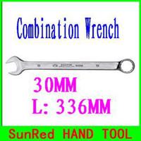 Wholesale SunRed BESTIR MM spanner for cars combination auto tools Cr V steel fine forged finishing polish NO freeshipping