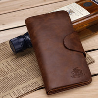 name brand purses - men s wallet Brand name genuine Leather Wallet for men Gent Leather purses hot fashion