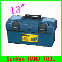 Wholesale SunRed BESTIR taiwan made plastic tool box size quot blue color high quality tool box tool case NO discount