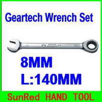 Wholesale SunRED BESTIR taiwan made excellent quality MM metric L mm Cr v ratchet wrench industrial tools NO freeshipping