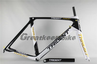 Wholesale Carbon frame Trident Thrust greatkeen carbon fork road mtb bicycle frame c carbon frame road frameset look de rosa BH G6