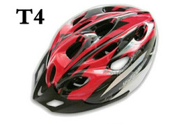 Cycling Bicycle Adult Bike Safe Helmet Carbon Hat With Visor 19 Holes Red FRAME BIKE ROAD