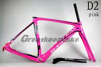 Wholesale greatkeenbike DE ROSA KING D2 PINK carbon road frame mtb carbon frame downhill bike mendiz RS look BH G6 colnago