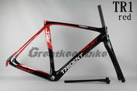Wholesale THIDENT THRUST TR1 RED frame bike mtb carbon road frame t800 bicycle road race bike carbon COLNAGO c60 de rosa look bh