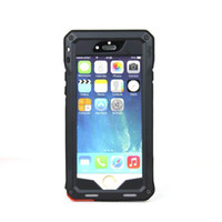 Cheap Pepk Ultimate Metal Shockproof Waterproof Case Aluminum & Silicon Phone Case for iphone 6 4.7inch