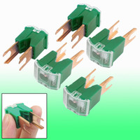 Wholesale Car Green A AMP J Case V Blade Pacific Auto Link Slow Blow Fuse