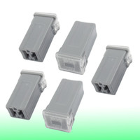 auto fuse link - Auto Car Straight Female Terminals Link PAL Fuse AMP Gray