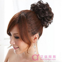 Wholesale Fashion Bud Head Hair Wig Circle Bag Hair Accessories Hair Ring Tousheng S40260