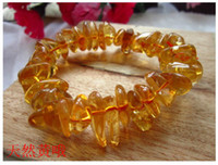Cheap Natural citrine pink crystal stone Crystal Gravel bracelet Beads bracelet DIY Jewelry Making