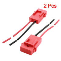 Wholesale 2 Red Plastic Coated Auto Car ATC Blade Inline Fuse Holder