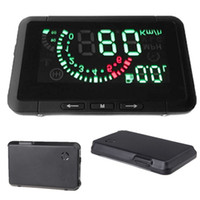 hud - 2014 Car HUD Head Up Display Vehicle mounted Security System With OBD2 OBD Interface Overspeed Warning Fuel Consumption K1200