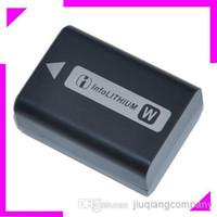 Wholesale NP FW50 mah V Li Ion Battery For Sony NEX NEX3 NEX NEX A NEX D Digital Camera Camcorder