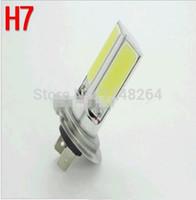 Wholesale 12V W H7 H4 COB lights Car LED fog lamps high power front fog lamps K