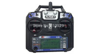 rc transmitter and receiver - FlySky FS i6 G ch Transmitter and Receiver System LCD screen for RC helicopter