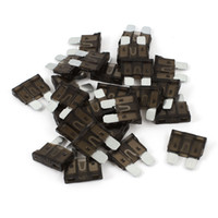 Wholesale 20 A Brown Plastic Shell Car Truck Motorcycle Vehicle Auto Blade Fuse