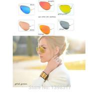 Wholesale 2014 New Gafas Oculos De Sol Masculino Promotion Sun Glasses Glass Lenses Sunglasses