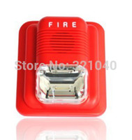Wholesale 24V Wired Fire Siren ABS Housing Low power Consumption with CE and RoHS Marks